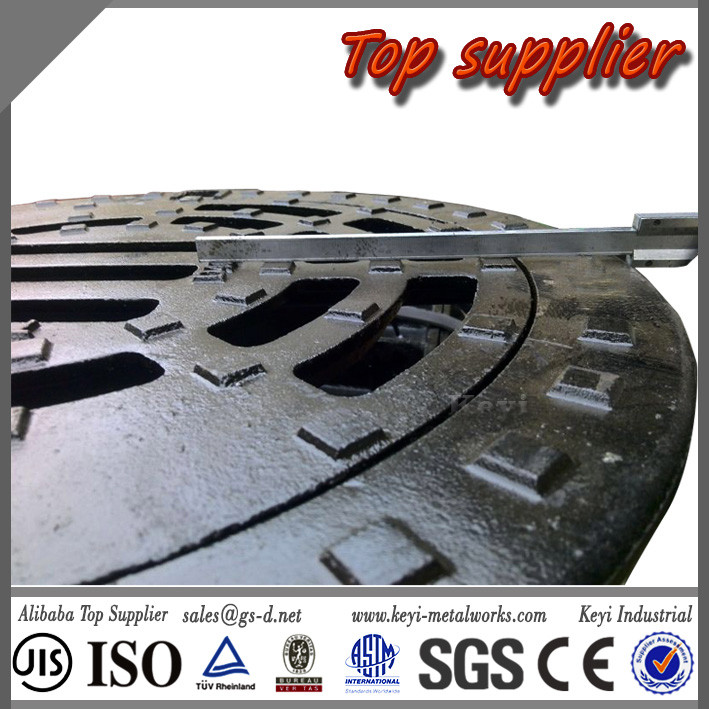 Top 1 Supplier OEM&ODM Quick Delivery Round Manhole Cover Grating&Custom Manhole Grate