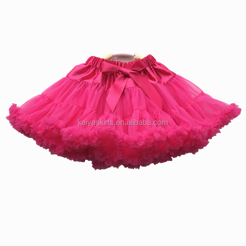 Pure Colors Design Fashion Summer Kid Baby Tutu Skirt