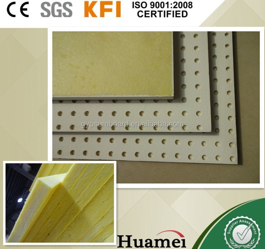fire resistant material /heat proof glass panel/ glass wool ceiling