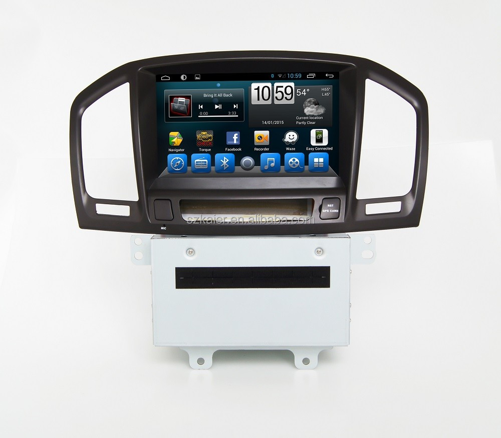 Kaier Manufacturer 2 din 8'' Car GPS DVD Radio GPS System for Buick Insigina Regal 2009 2010 2011 2012 with SWC