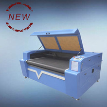 Auto feeding stencil shoes making cnc laser cutting machine price with conveyor belt