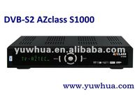 2012 Az class S1000 hd decodificador digital Chile better than azfox s2s