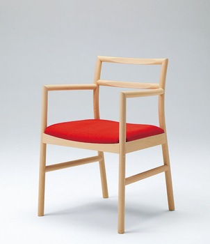 BAMBU ARMCHAIR wooden high design japanese dining armchair
