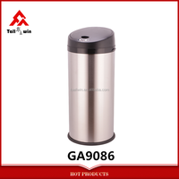 30L Stainless Steel Stainding Round Sensor Bin Automatic Recycling Bin GA9086