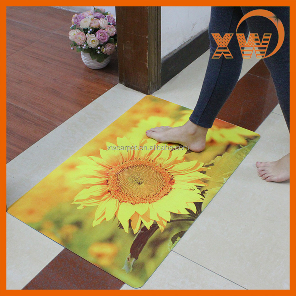 Butterfly design PVC backing printing plastic carpet protector