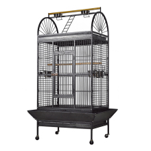 Large Metal Steel Wire Play Top Parrots Cockatoo Macaw Big Bird Cages Parrot Finches Cage