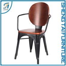 2017 Modern simple style home wood design chair furniture