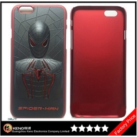 Keno 3D Spiderman Hard Plastic Back Cover Case For iPhone 6
