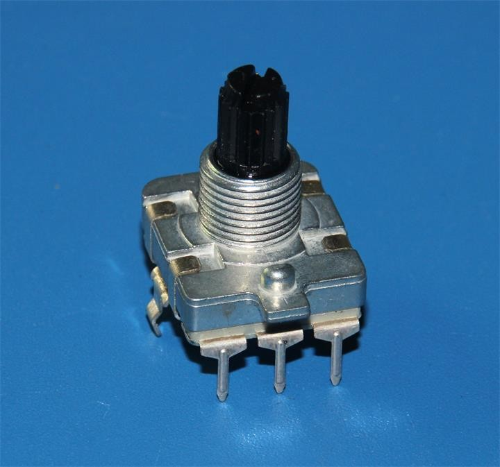 HW-16E 16mm Rotary Encoder  with flat shaft electric 12&24 detents