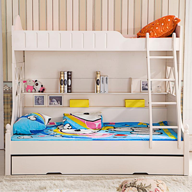 billig verkauf wei holz etagenbetten f r kinder mit schublade und leiter holzbett produkt id. Black Bedroom Furniture Sets. Home Design Ideas