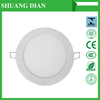 2016 newest round led panel lamp china real manufactory low price high quality