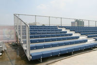 Aneasy anti-weather Outdoor Metal Bleacher, Sporting Tribune Seats, Soccer Metal Bleacher