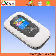 Multi language customized Pocket 4g wifi hotspot with sim card slot, portable 3g 4g wifi hotspot router Real factory quality con