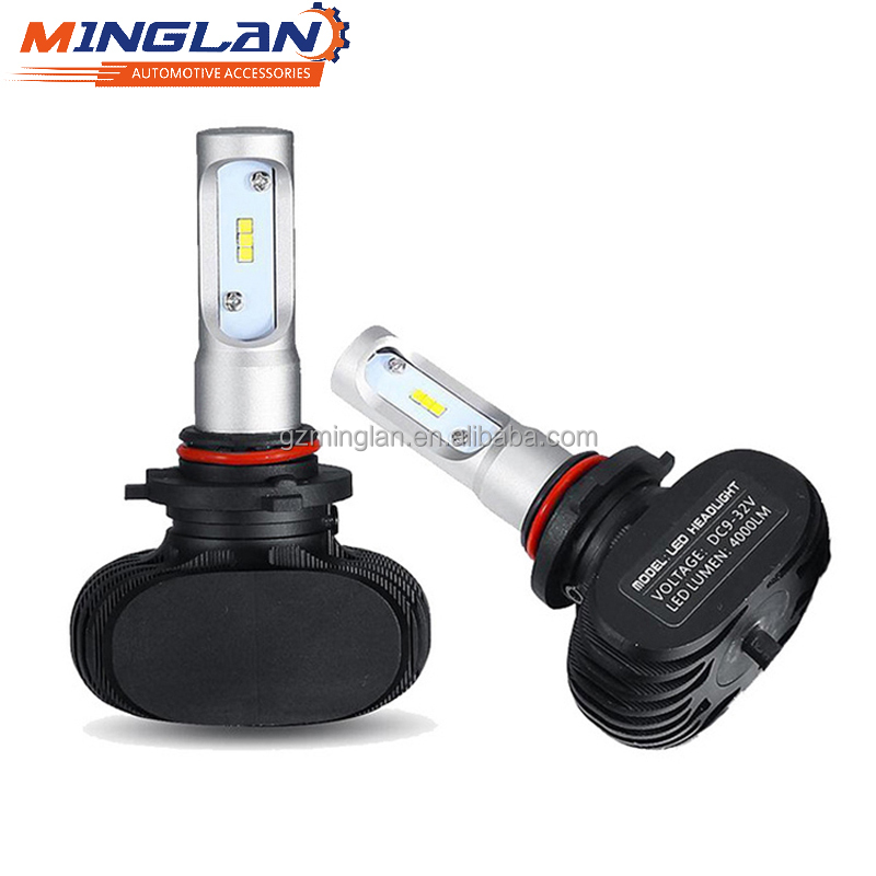 8000LM 25W S1 Auto motorcycle car super bright led headlight bulb h10