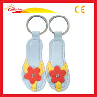 2013 Fashion Fashion Leather Craft Keychain