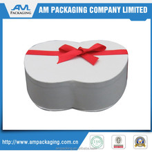 Fancy Paper Box Gift Packaging with Ribbon