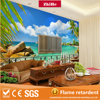 Wholesale 3d wallpaper for home decoration of wall paper rolls interior decoration 3d wall paper