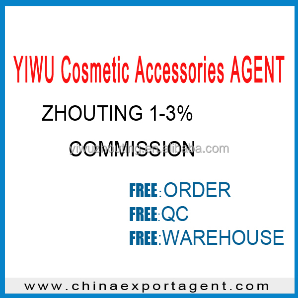 Ten years trade company specialty YIWU Cosmetic Accessories AGENT