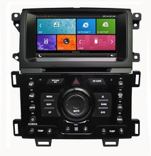 8 Inch capacitance touch screen Digital Car DVD Player GPS Navigation for FORD Ranger/Edge 2011-