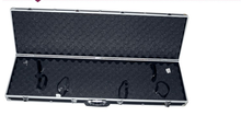 Dongguan factory leather long gun case