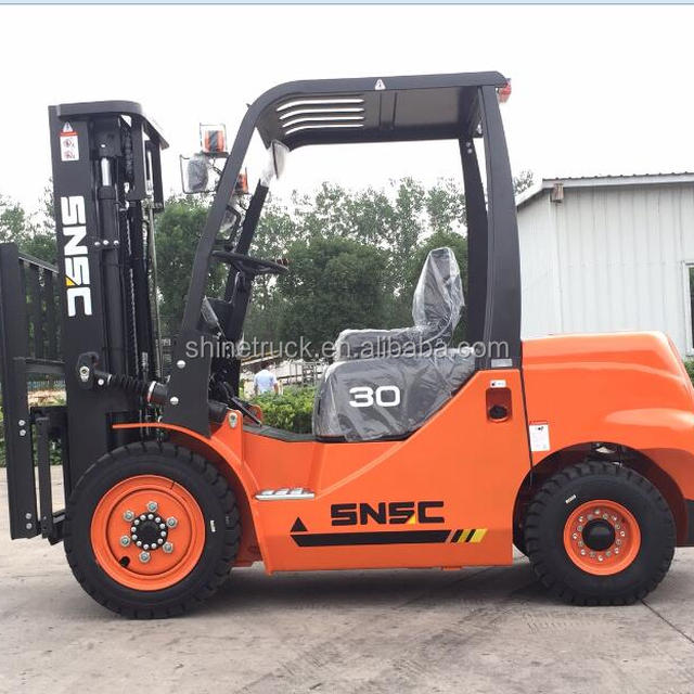 China diesel forklift 3ton with automatic hydraulic transmission