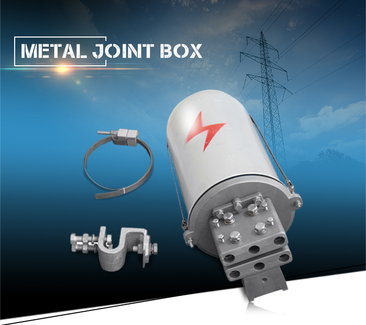High quality Dome type vertical Fiber Optic Cable Joint Box
