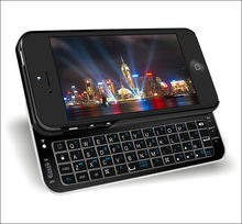 cheap sliding bluetooth wireless keyboard for iphone5