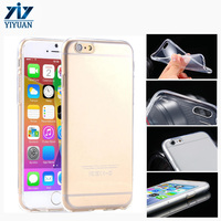 2016 Low Price Ultra-thin for iPhone 6 6S Clear Soft TPU Phone Case