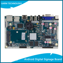 Cheap Price Wholesale Mianboard Allwinner A20 Android System Board Digital Signage Motherboard for Full Size Advertising