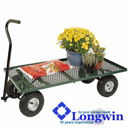 4 wheel wheelbarrow danish trolley
