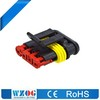 4 Pin amp car connector Female automotive car wire connection terminal 1.5 PBT waterproof Tyco AMP auto connector