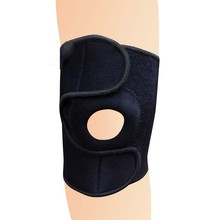Customzied Adjustable Breathable high Elastic Neoprene knee/leg support for basketball /soccer in china