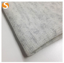 Fashionable Polyester Wool Hacci winter knit fabric for garments sweater