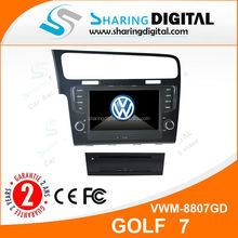 "8"" touch screen Bluetooth 2 din Car Stereo Dvd for VW GOLF 7 2013"