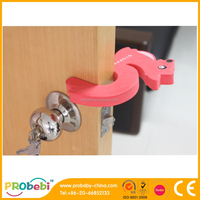 eva foam soft C shape child safety sliding door stop