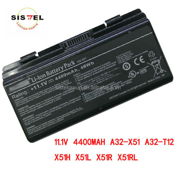 genuine original laptop battery for asus A32-X51