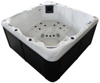 2016 Royal acrylic bathtub outdoor spa foot massage spa sex massage adult spa
