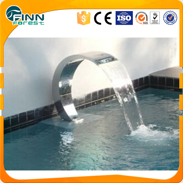 outdoor swimming pool bali for spa shower with colorful light