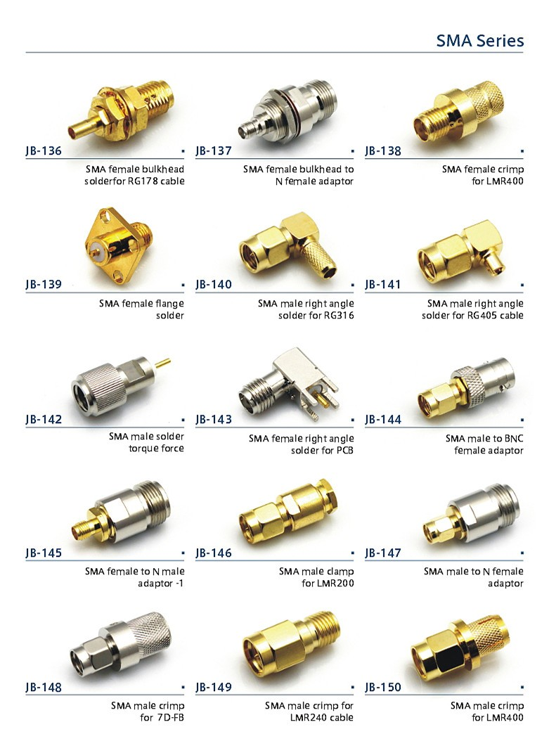 waterproof connector male connector for lmr240