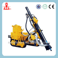 KAISHAN KH5 high pressure portable drilling rig for quarry (with dust collector)