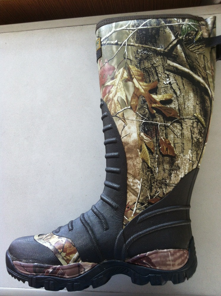 800g1000g1200g1600g thinsulate cotton public camo knee rubber hunting boots