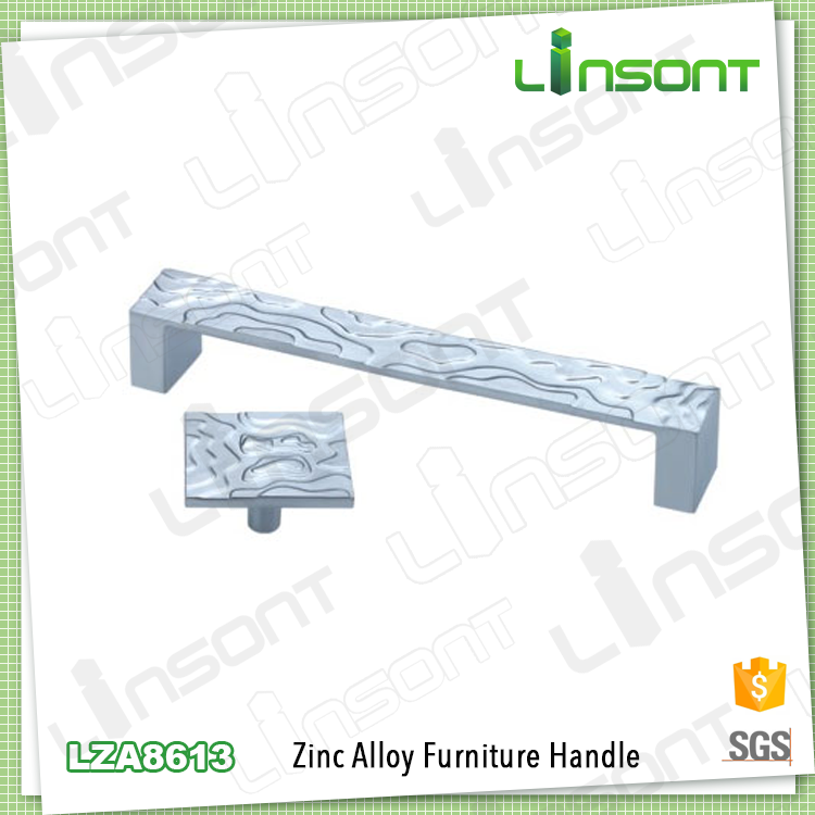 Factory supply zinc alloy white european classical bedrooms pulls kitchen cabinets hardware