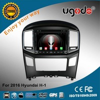 China factory new product 8inch 2 din car radio with navigation for Hyundai H-1 2016 with gps 3g wifi