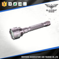 3W XPE Rechargeable Aluminium Ultra Bright LED Torch Light Zoomable1101 Police Flashlight