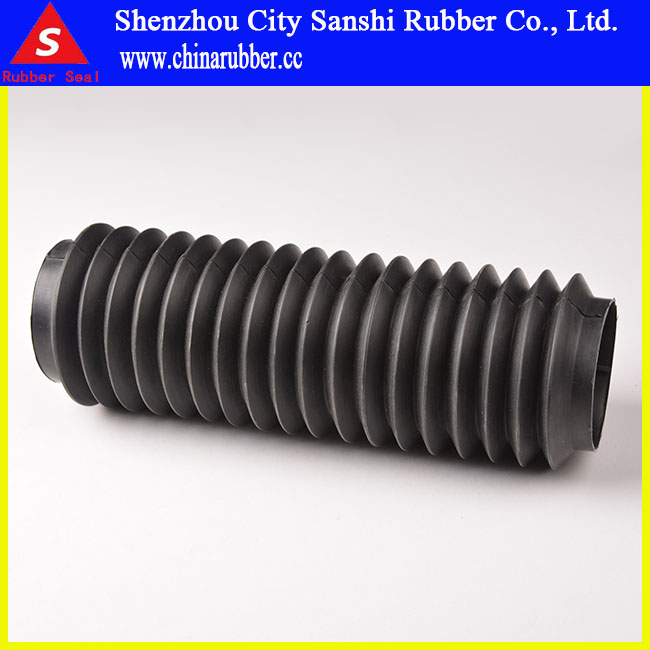 elastic telescopic rubber protecting sleeve