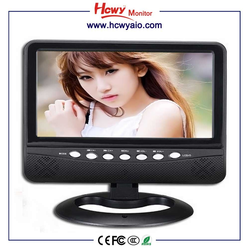 "Factory Wholesale 9"" Sex TV 7"" Free Sex TV 1 With AV TV USB SD Card and Portable"
