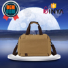 Vintage casual canvas weekend travel duffle bag for men