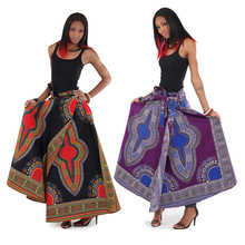 Traditional Print African Wrap Skirts Clothing Wholesale
