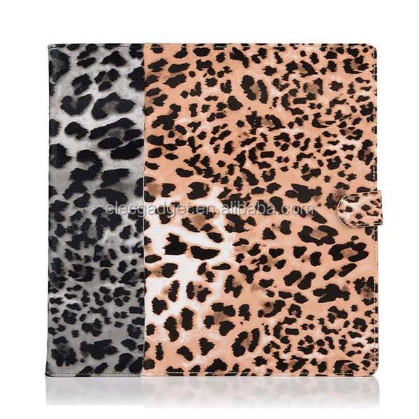 Leopard Pattern Frosted Hard Plastic Protective Case for iPad pro 9.7inch