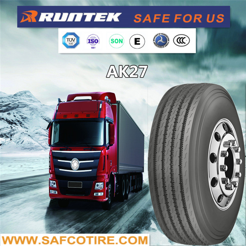 WHOLESALE COMMERCIAL TRUCK TIRES 11R24.5 steer tires LOW PROFILE